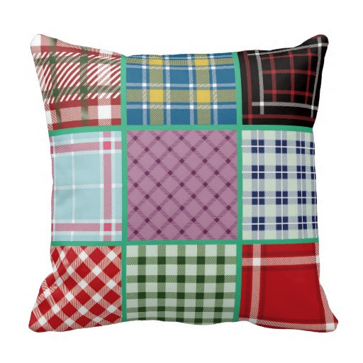 Red Plaid Throw Pillow Cover : England Plaid Throw Pillow,sofa Lumbar Pillow,pillow Cover 18x18,plaid Pillow,plaid Pillow Cover ...