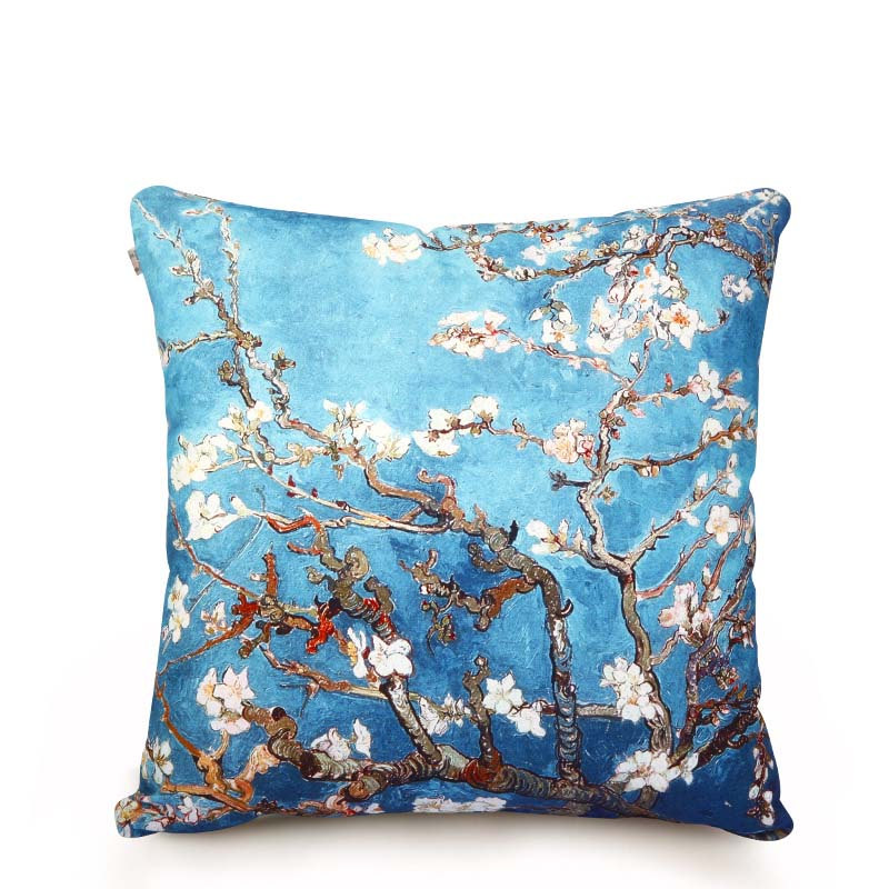 Department Of Apricot Colorful Cotton Pillow, Throw Pillows Sofa, Floral Throw Pillows ...